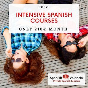 Intensive Spanish Courses in Valencia