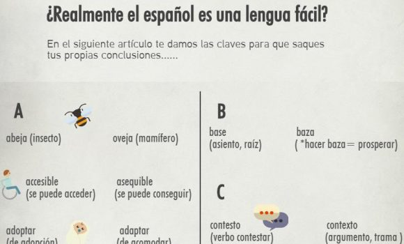 Spanish an easy Language? Part I